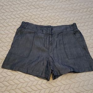 NWOT! Ann Taylor Chambray Shorts